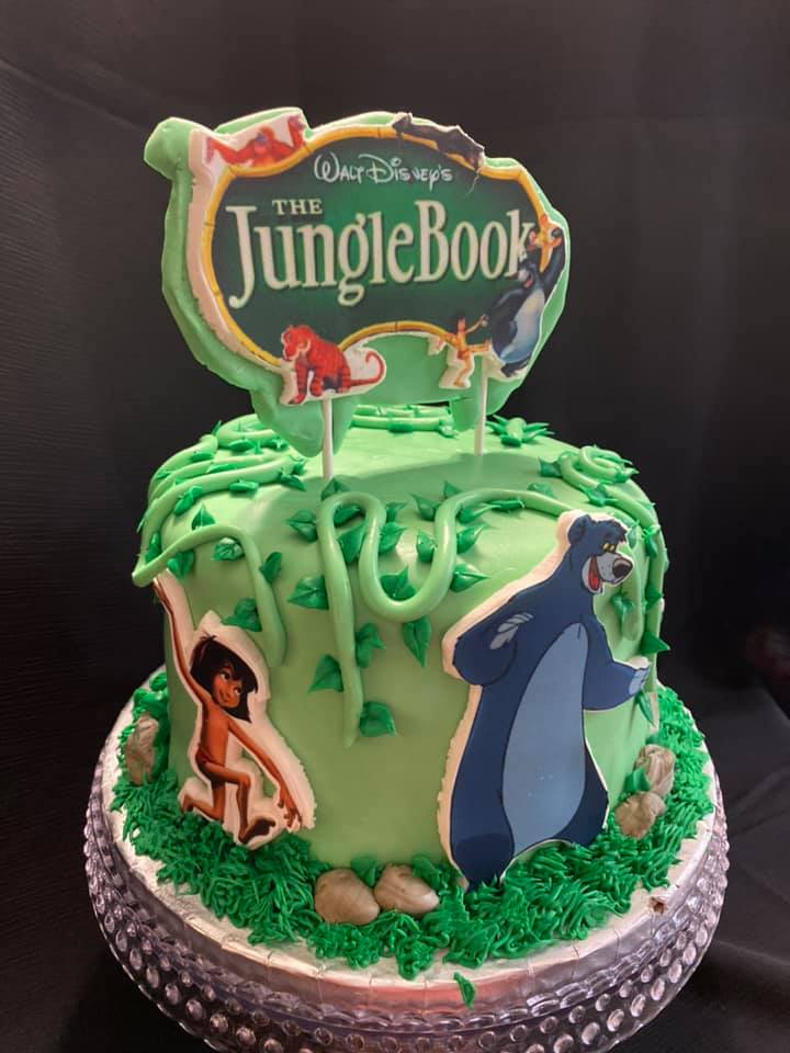 Jungle Theme Cake 1