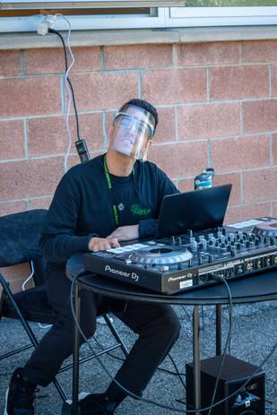 DJ Nicotunes rockin' out!