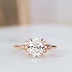 Fiorella Diamond Engagement Ring