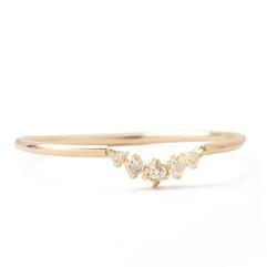 Petite Diamond Arch Ring