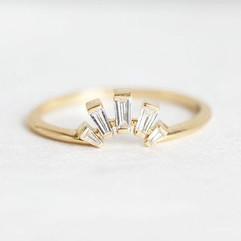 Baguette Diamond Wedding Ring