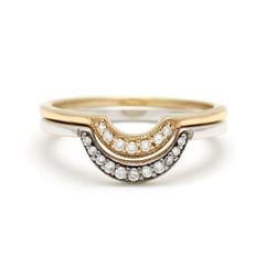 Nesting Pair Engagement Ring