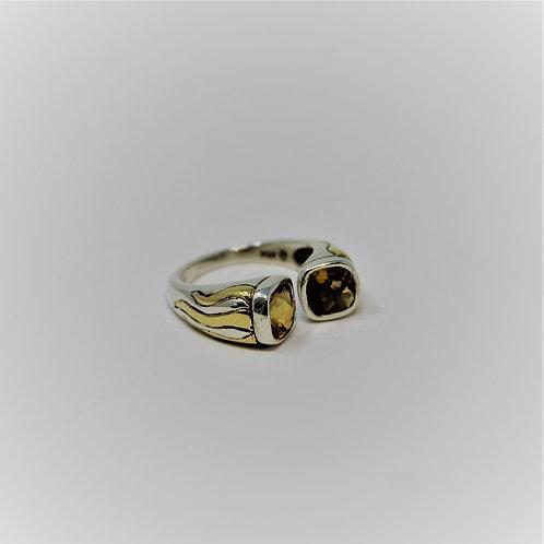 Twin Flounce Ring