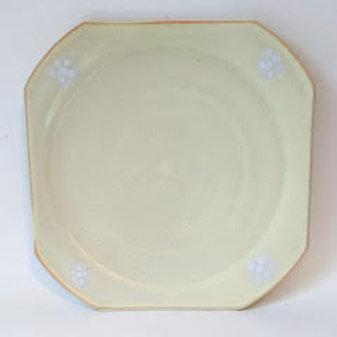 Ceramic porcelain platter
