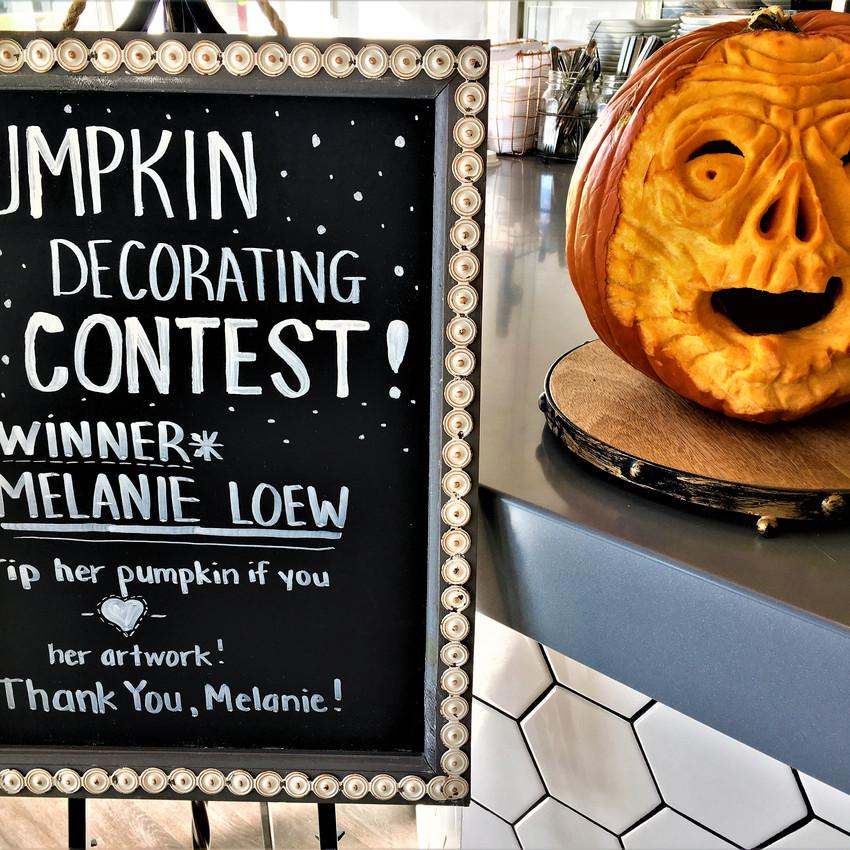 2017 Pumpkin Decorating Contest