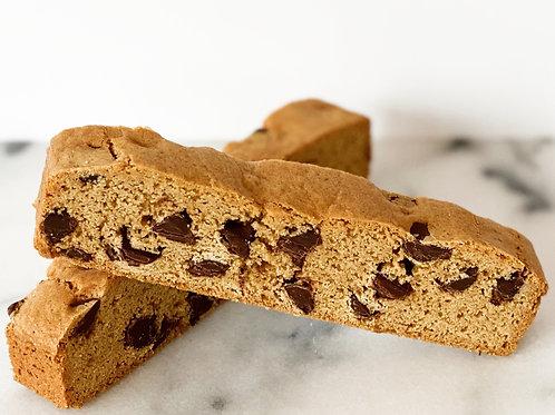 Chocolate Chip Biscotti Bag (4ct)