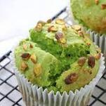 VEGAN Pistachio Muffins (Dairy-free)