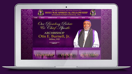 Holy Way Spiritual Fellowship, Launches New Website!