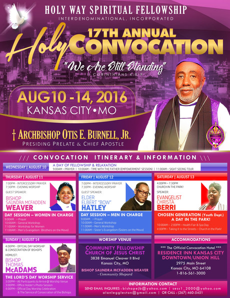 Holy Convocation 2016, A Great Success!
