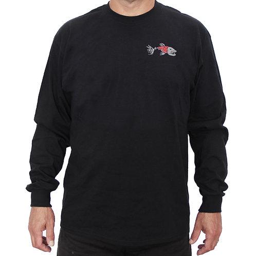 Black Long SleeveExtreme Fishing T-Shirt