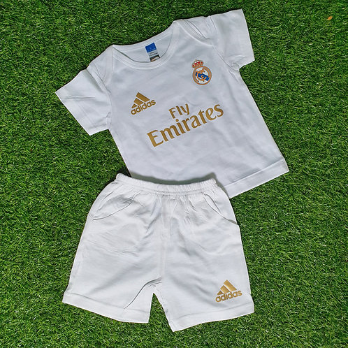 Real Madrid Home 2019/20 Toddler Set