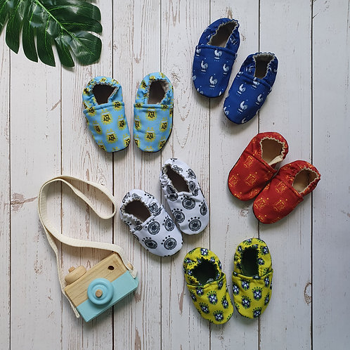 Baby Booties World Cup Edition