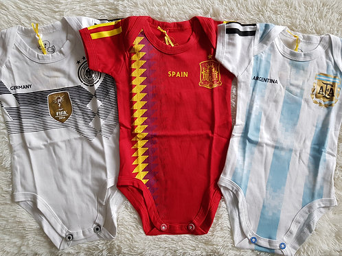 World Cup 2018 Rompers