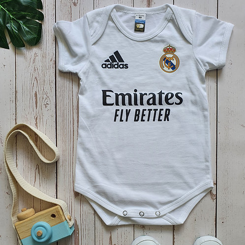 Real Madrid Home 20/21 Romper