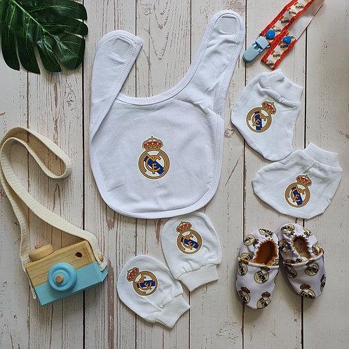 Real Madrid Newborn Accessories Set