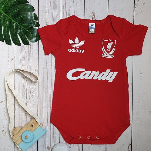 Liverpool Retro Baby Romper