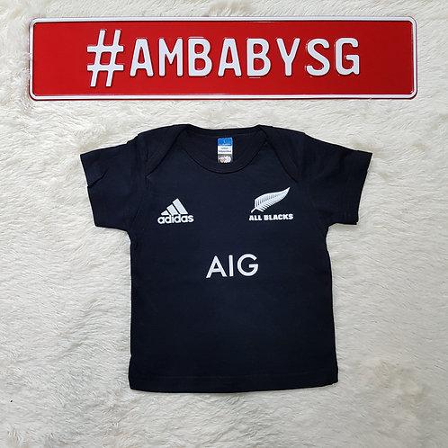 New Zealands All Blacks Baby Tee