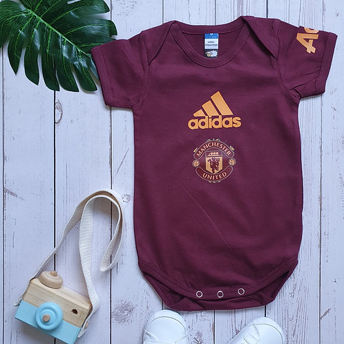 Manchester United Travel Edition Baby Romper