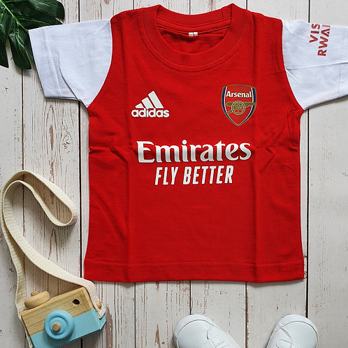 Arsenal Home 20/21 Toddler Tee