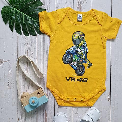 VR | 46 Biker Baby Romper
