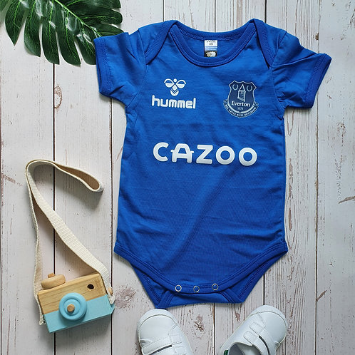 Everton Home 20/21 Baby Romper