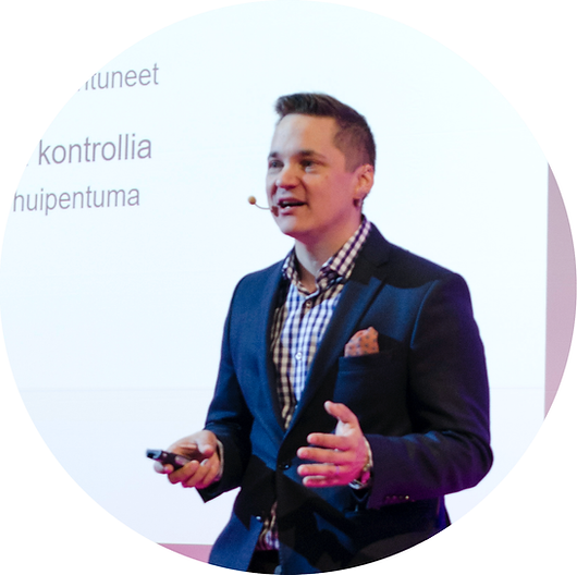 Pekka Huttunen event professional