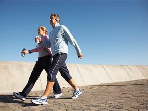 Caminhar prolonga a vida