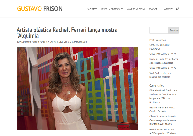 Mostra de Rachell Ferrari