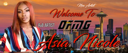 Asia Nicole welcome Banner