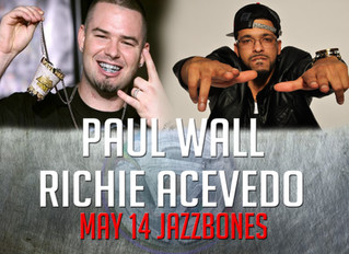 Richie Acevedo Opens For Paul Wall