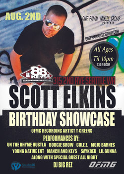 Scott Elkins Birthday Showcase