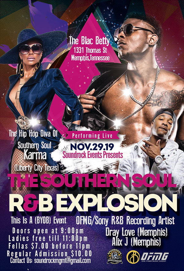 The Southern Soul R&B Explosion