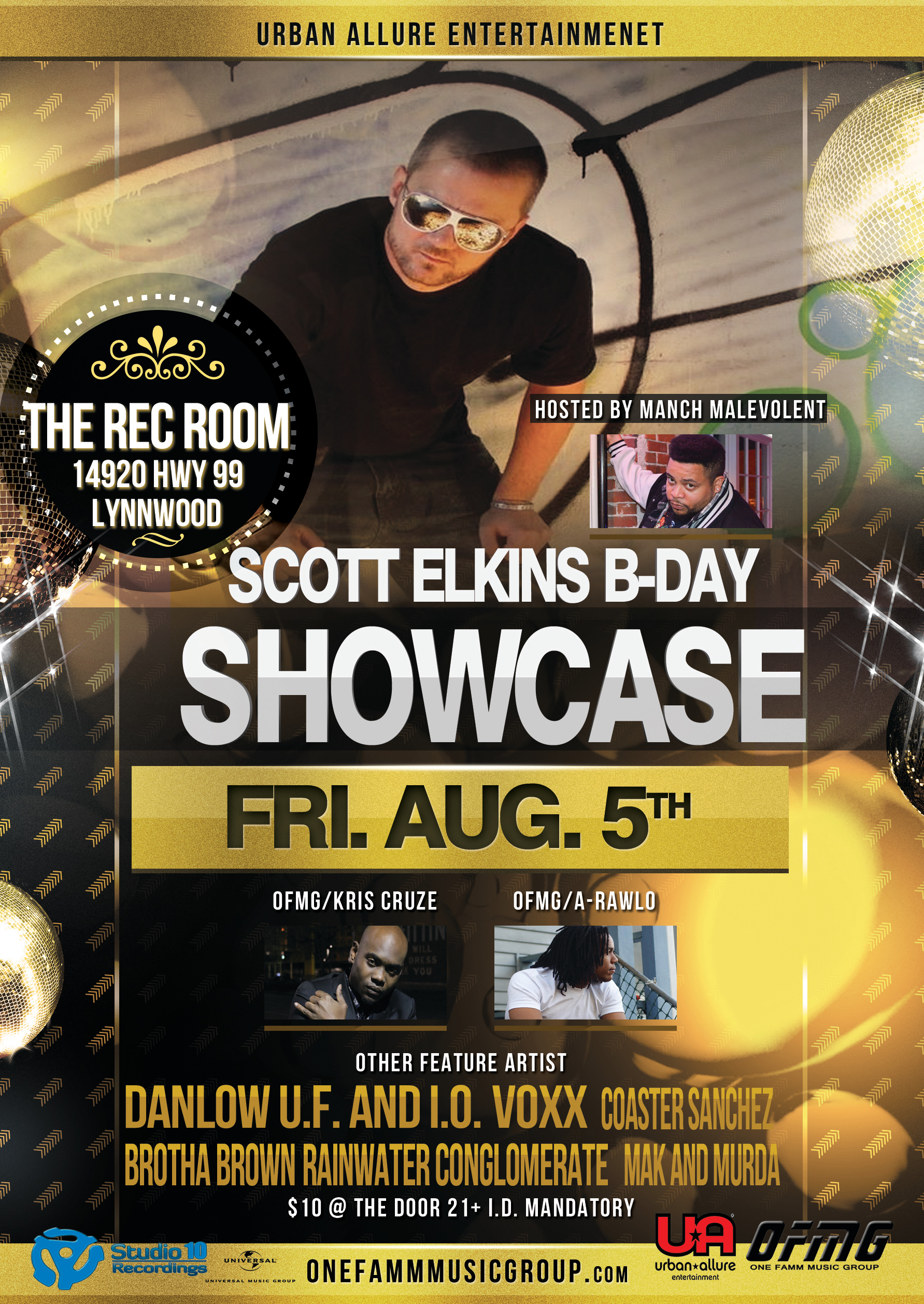 Birthday Showcase 2016 The Rec Room