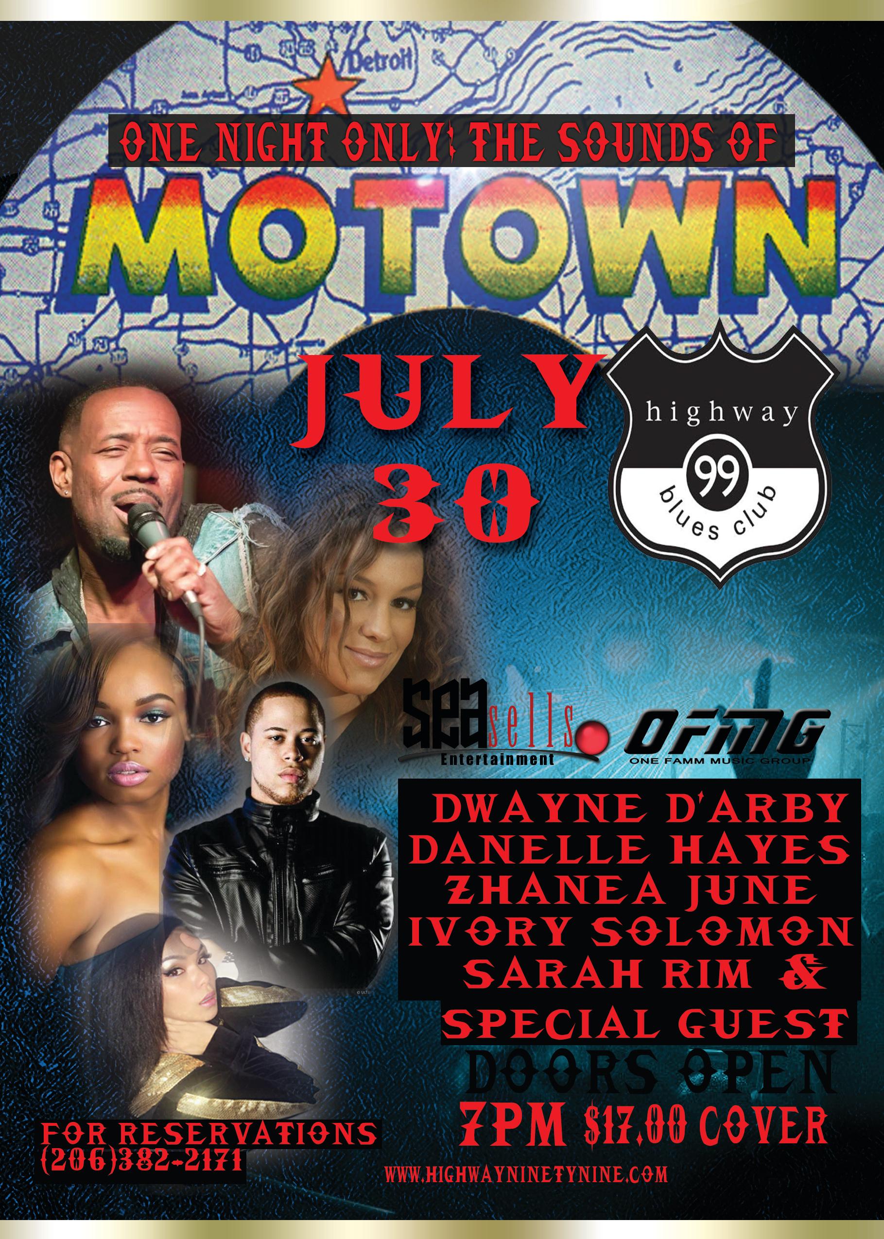 Motown HW 99 July 30th