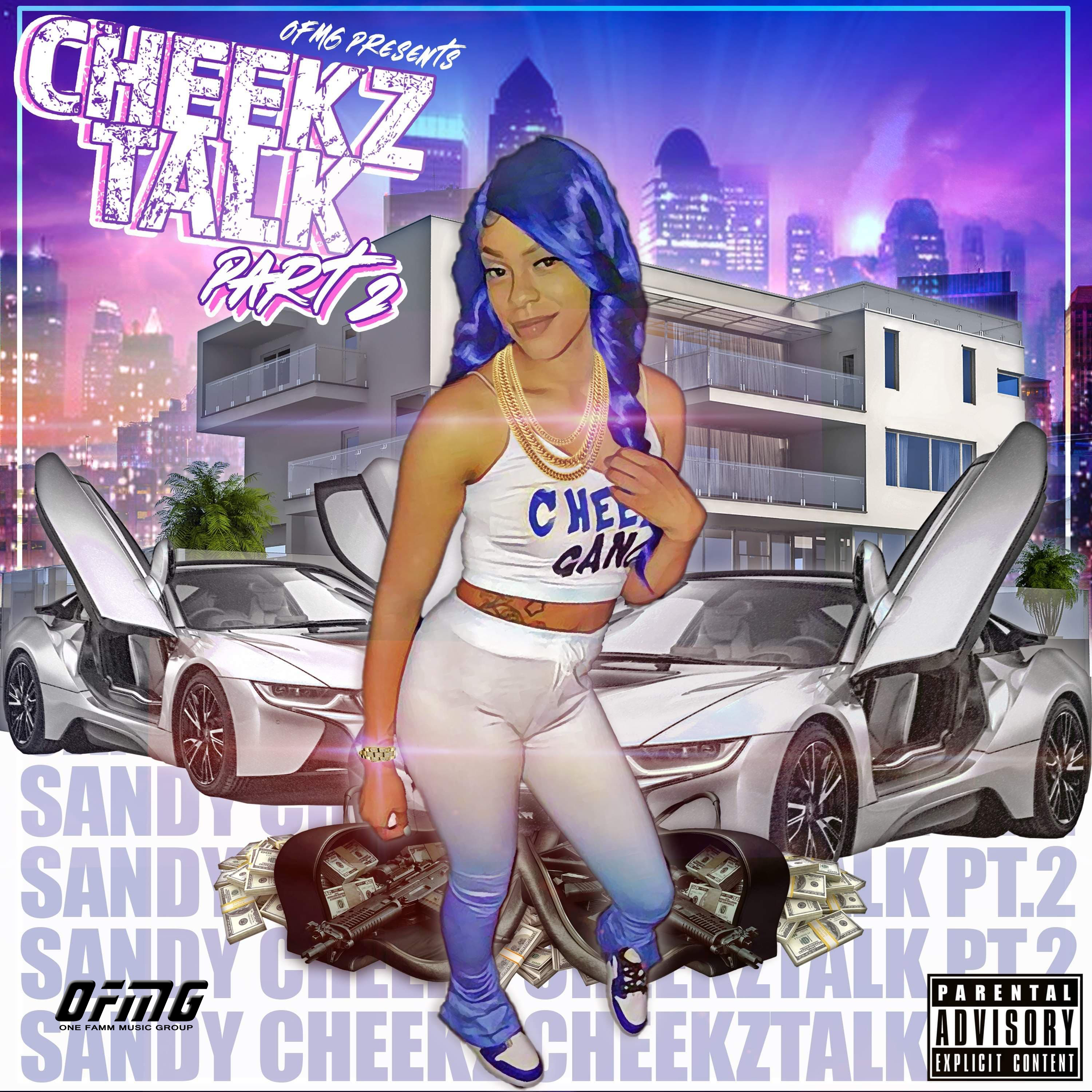 Cheekz Talk Pt2 Artwork Final