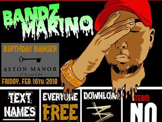 Bandz Marino New Mixtape and Release Party