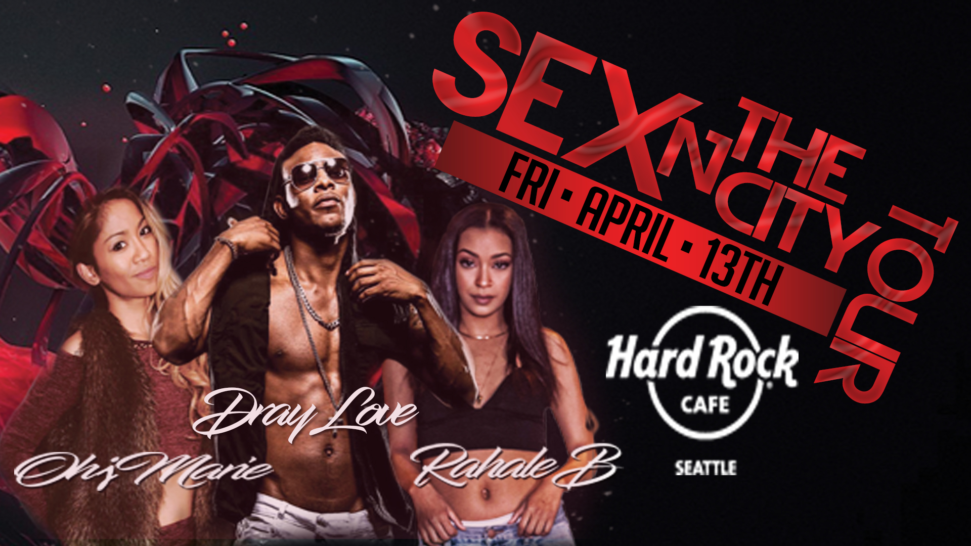 Sexy R&B Hard Rock Facebook Events