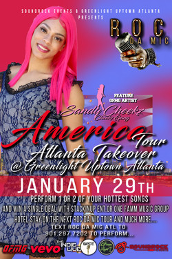 Roc Da Mic America Atlanta Takeover Sand