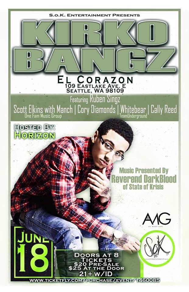 Kirko Bangz Show Poster