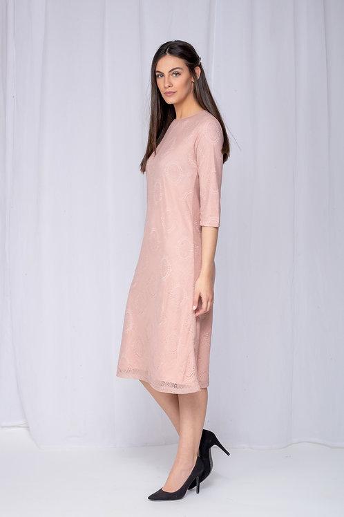 """שמלת כלילת ורוד 110 ס""""מ"""