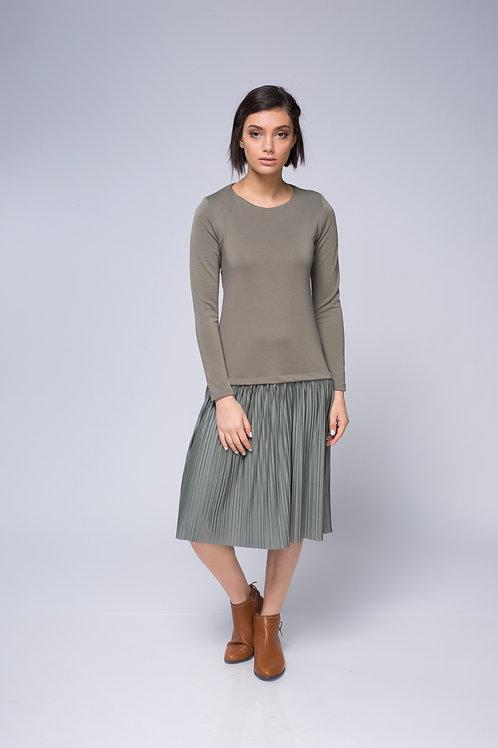 שמלת מנטה ירוק