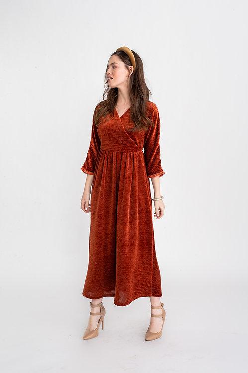 שמלת ציפורי חמרה