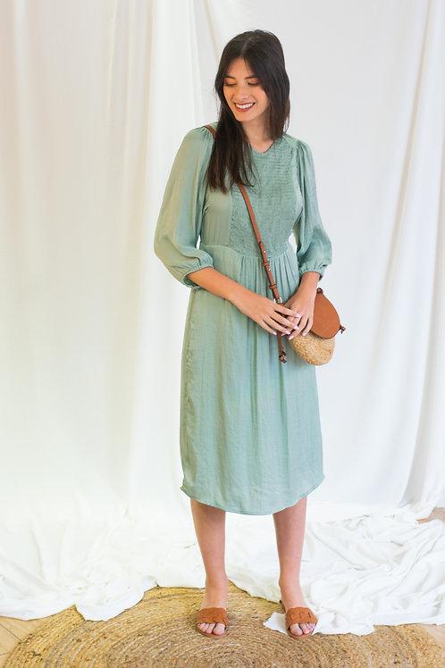 שמלת יקינטון מידי מנטה