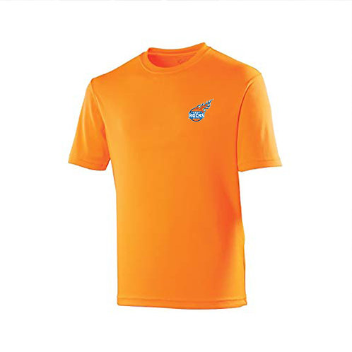 Orange Warm Up Top