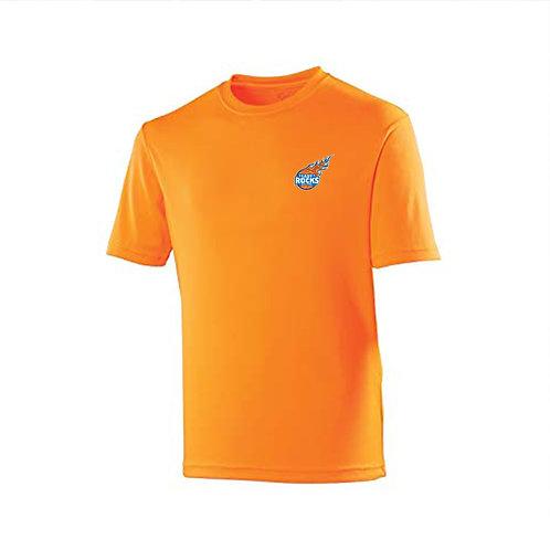Orange Warm Up Top