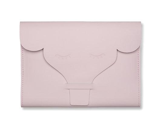 Capa para Caderneta de Vacinação Elefante Rosa