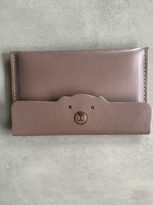 Porta-Passaporte/documentos Urso Marrom 1 - Outlet