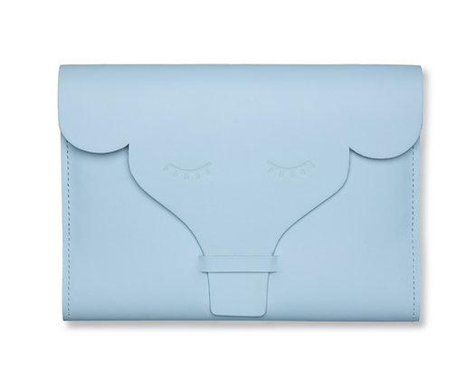 Capa para Caderneta de Vacinação Elefante Azul