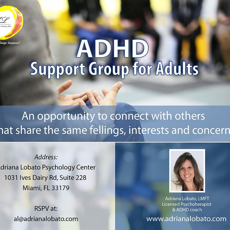 ADHD Support Group for Adults