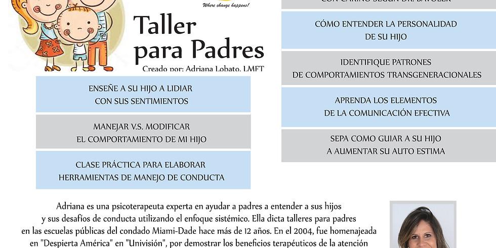 Taller para Padres